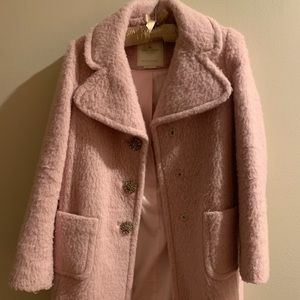 kate spade Jackets & Coats - Kate spade jewel button wool blend coat